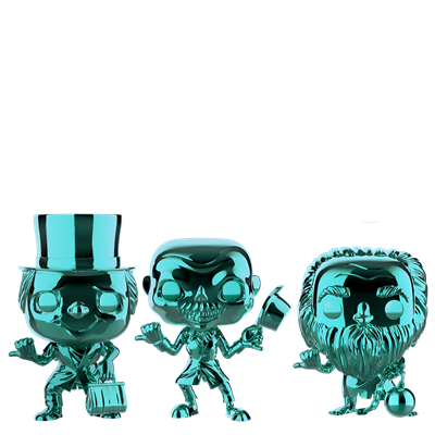Funko Pop! Disney Hitchhiking Ghosts (3-Pack)