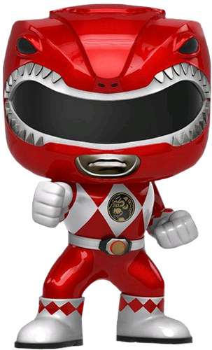Funko Pop! Television Red Ranger (Metallic)