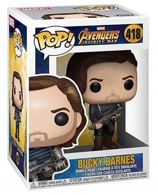 Funko Pop! Marvel Bucky Barnes Stock