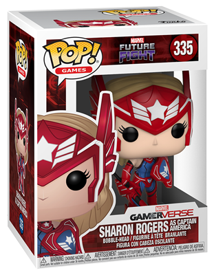 Funko Pop! Games Sharon Rodgers (as Captain America) Stock