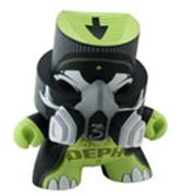 Kid Robot Fatcap Holy Roller (Green)