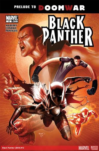 Marvel Comics Black Panther (2008 - 2010) Black Panther (2008) #12