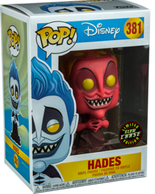 Funko Pop! Disney Hades (Glow) - CHASE Stock Thumb