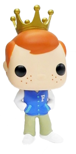 Funko Pop! Freddy Funko Letterman Jacket
