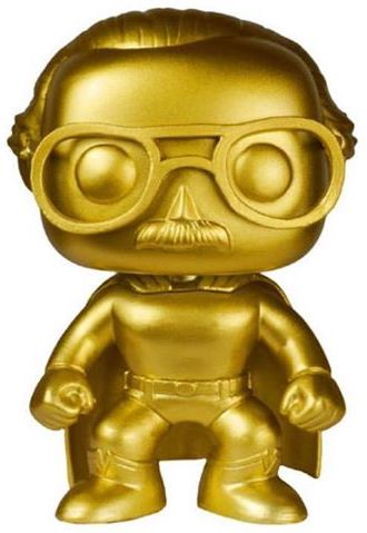 Funko Pop! Stan Lee Stan Lee (Superhero) - Gold Icon Thumb