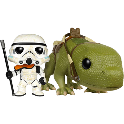 Funko Pop! Star Wars Sandtrooper & Dewback