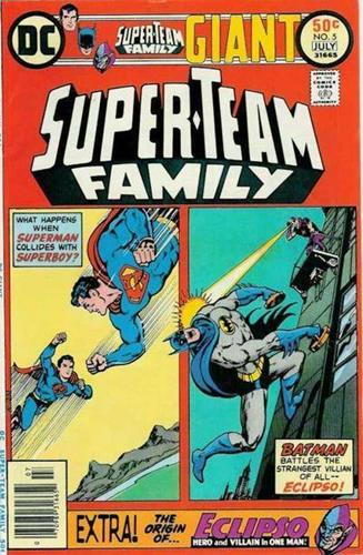 DC Comics Super-Team Family (1975 - 1978) Super-Team Family (1975) #5