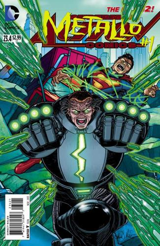 DC Comics Action Comics (2011 - 2016) Action Comics (2011) #23.4 Icon