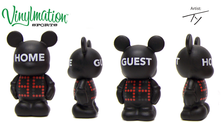 Vinylmation Open And Misc Sports Jr. Scoreboard