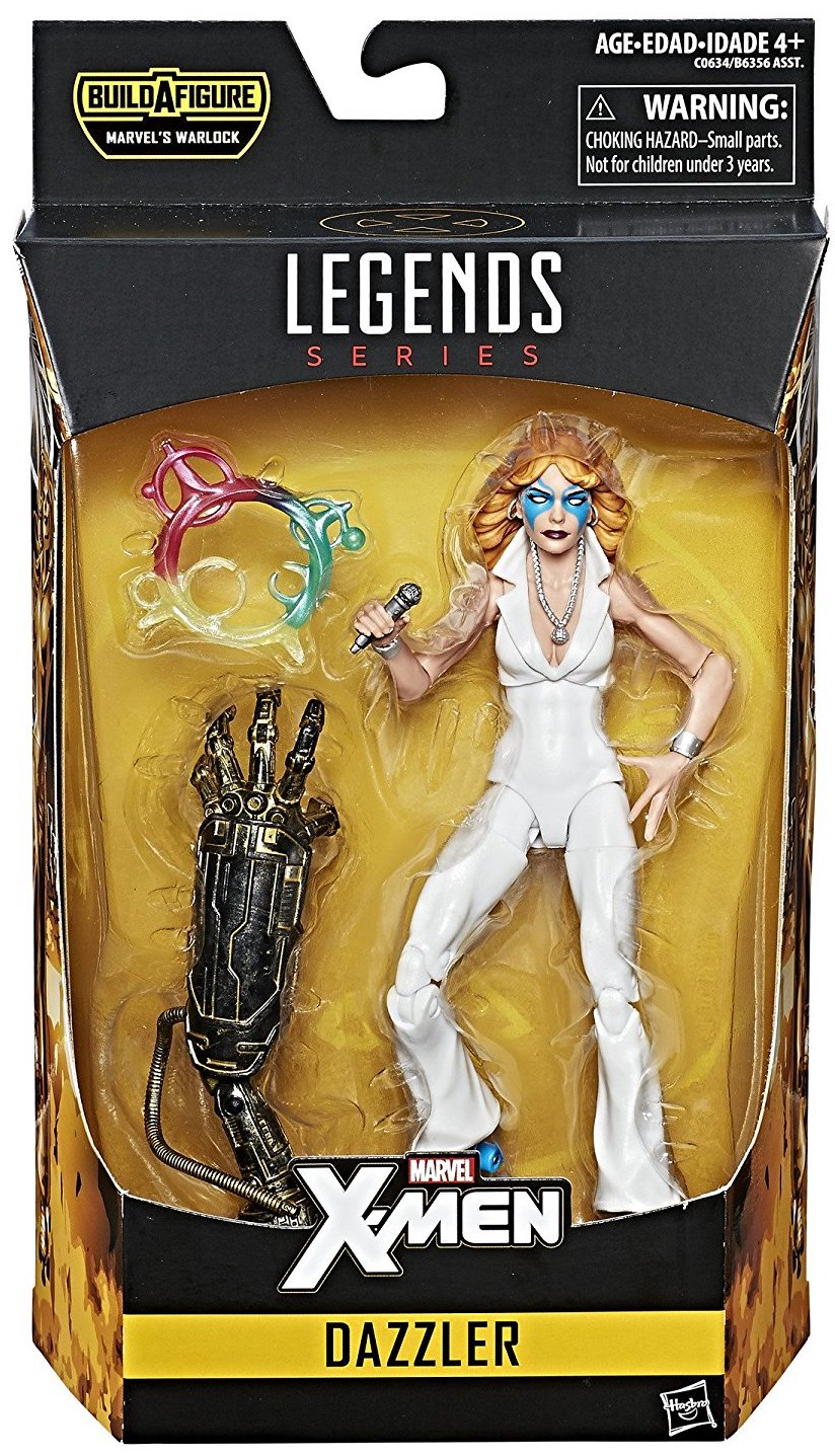 Marvel Legends Warlock Series Dazzler