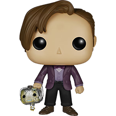 Funko Pop! Television Eleventh Doctor (Cyberman Head)