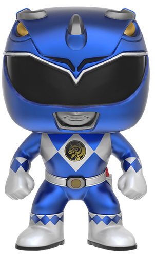 Funko Pop! Television Blue Ranger (Metallic)