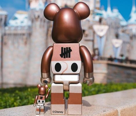 Be@rbrick Disney Mickey Mouse Set (Copper)