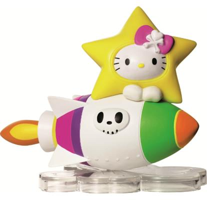 Tokidoki Hello Kitty 7-Eleven Rocket Kitty Icon