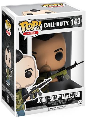 "Funko Pop! Games John ""Soap"" MacTavish Stock"