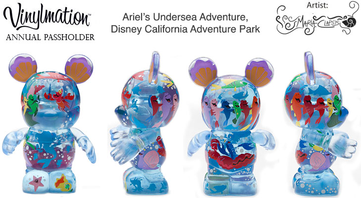 Vinylmation Open And Misc Exclusives Little Mermaid