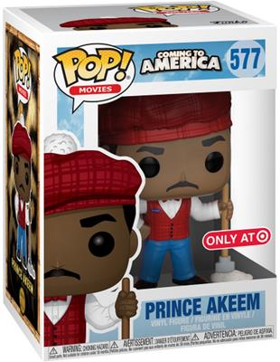 Funko Pop! Movies Prince Akeem (McDowells) Stock