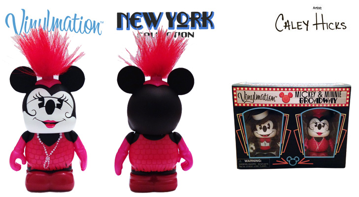 Vinylmation Open And Misc New York City Minnie