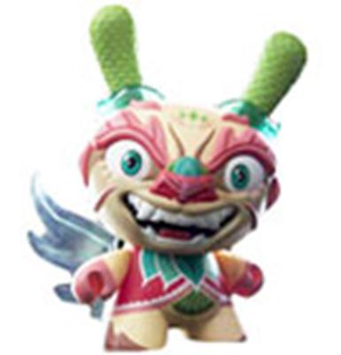"Kid Robot 8"" Dunnys Imperial Lotus Dragon"