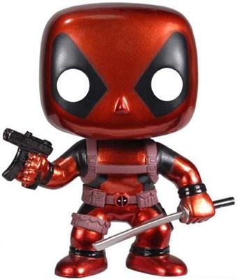 Funko Pop! Marvel Deadpool (Metallic)