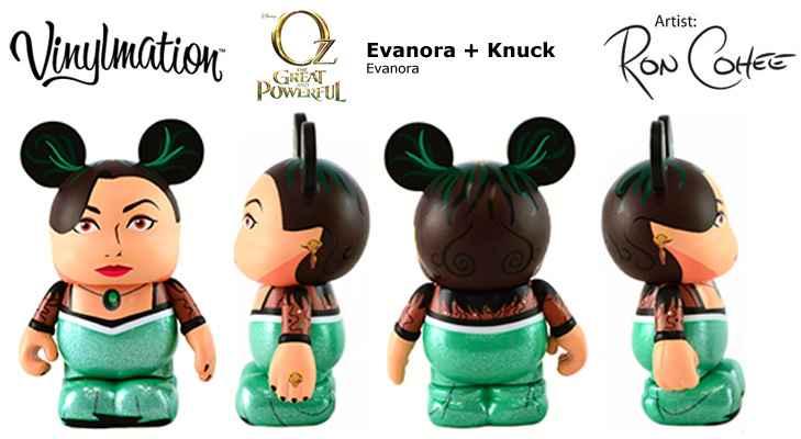Vinylmation Open And Misc Evanora Knuck Evanora