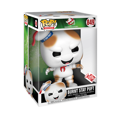 Funko Pop! Movies Burnt Stay Puft (10 inch) Stock