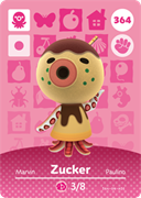 Amiibo Cards Animal Crossing Series 4 Zucker
