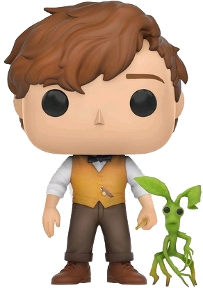 Funko Pop! Fantastic Beasts Newt Scamander and Pickett
