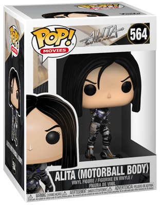 Funko Pop! Movies Alita (Motorball Body) Stock