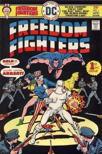 DC Comics Freedom Fighters (1976) Freedom Fighters (1976) #1 Stock