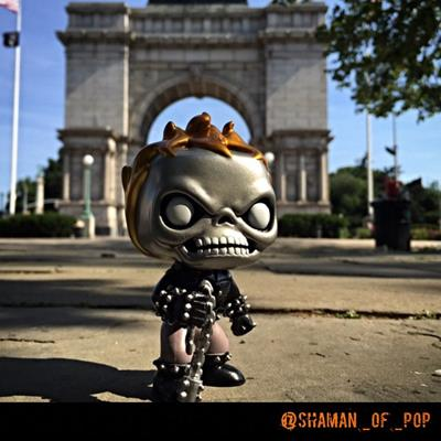 Funko Pop! Marvel Ghost Rider (Metallic) shaman_of_pop on instagram.com