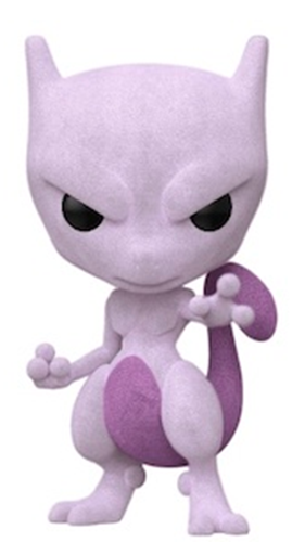 Funko Pop! Games Mewtwo (Flocked)
