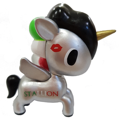 Tokidoki Unicorno Metallico Series 2 Mario Icon