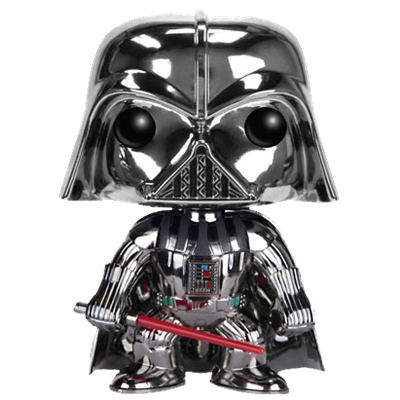 Funko Pop! Star Wars Darth Vader (Chrome)