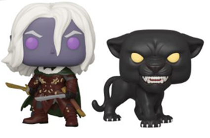 Funko Pop! Games Drizzt Do'Urden & Guenhwyvar (2 Pack)
