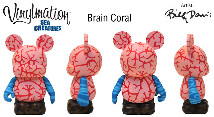 Vinylmation Open And Misc Sea Creatures Brain Coral