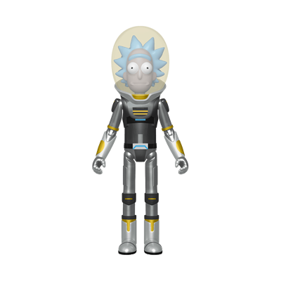 Funko Pop! Animation Space Suit Rick (Metallic)