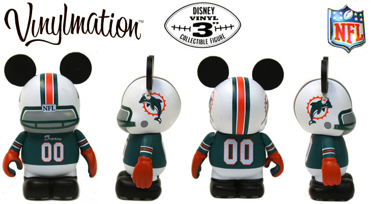 Vinylmation Open And Misc NFL Miami Dolphins