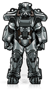 FiGPin Fallout T-60 Power Armor