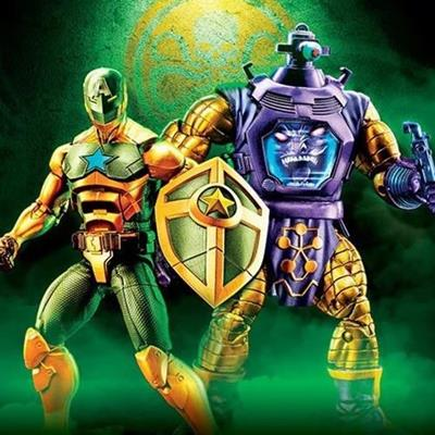 Marvel Legends 2019 MISC Marvel Legends Arnim Zola & Supreme Captain America Action Figure 2 Pack