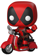 Funko Pop! Rides Deadpool on Scooter