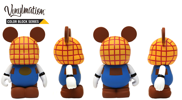 Vinylmation Open And Misc Color Block Woody