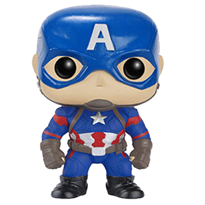 Funko Pop! Marvel Captain America (Civil War) Icon