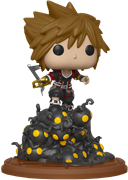Funko Pop! Games Sora Riding Heartless Wave
