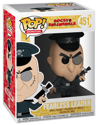 Funko Pop! Animation Fearless Leader Stock