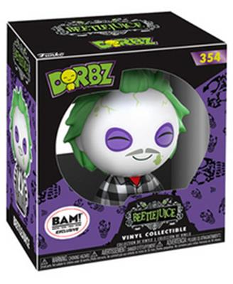 Dorbz Movies Beetlejuice (Plaid Shirt) Stock