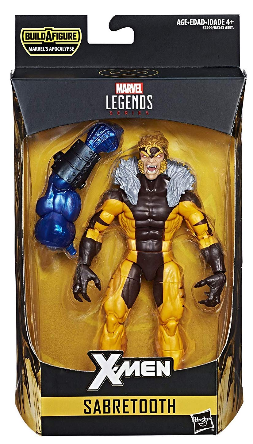 Marvel Legends Apocalypse Series Sabretooth