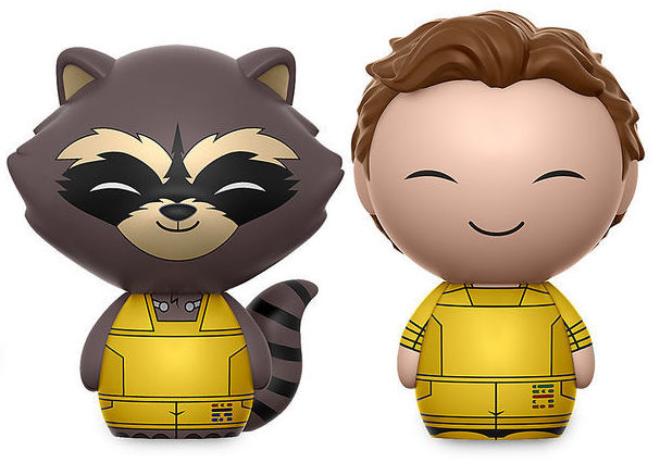 Dorbz Marvel Peter Quill & Rocket