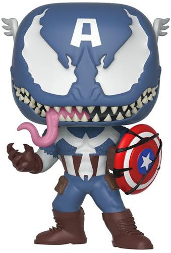 Funko Pop! Marvel Captain America (Venomized)