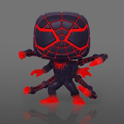 Funko Pop! Marvel Miles Morales Programmable Matter Suit (Glows in the Dark)